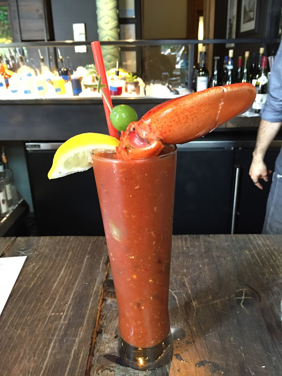 Bloody Mary with Lobster Claw